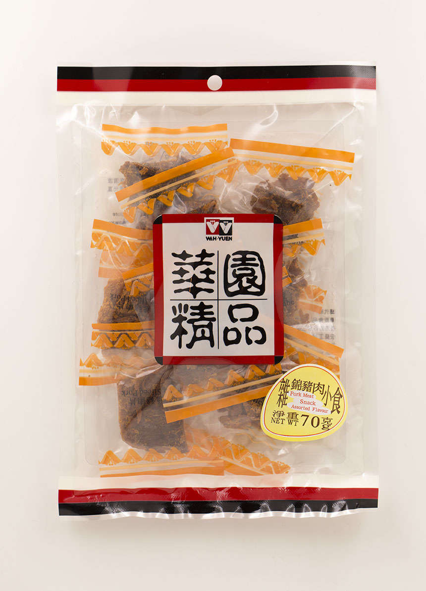 PORK MEAT SNAK ASSORTED FLAVOUR 70gx2pcs