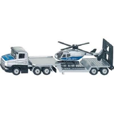 Siku 1610 Low Loader with Helicopter