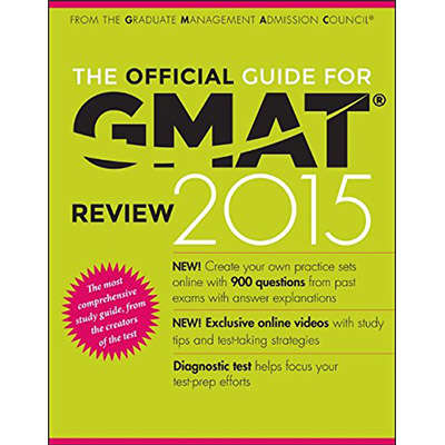 The Official Guide for GMAT Review 2015 With Online Question Bank and Exclusive Video 9781118914090