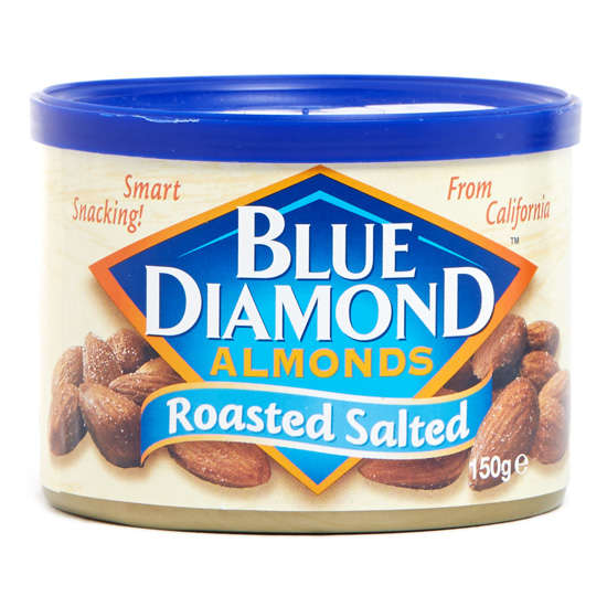 Blue Diamond Roasted Salted Almonds  150g
