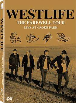WESTLIFE - THE FAREWELL TOUR LIVE AT CROKE PARK(DVD)