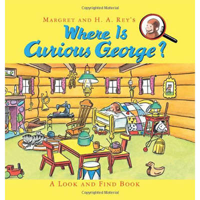 Where is Curious George? A Look and Find Book 9780547914169