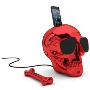 AEROSKULL HD (GLOSSY RED)