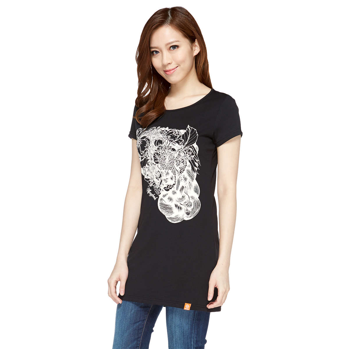 Glamous Summer Lady Slim Long Tee