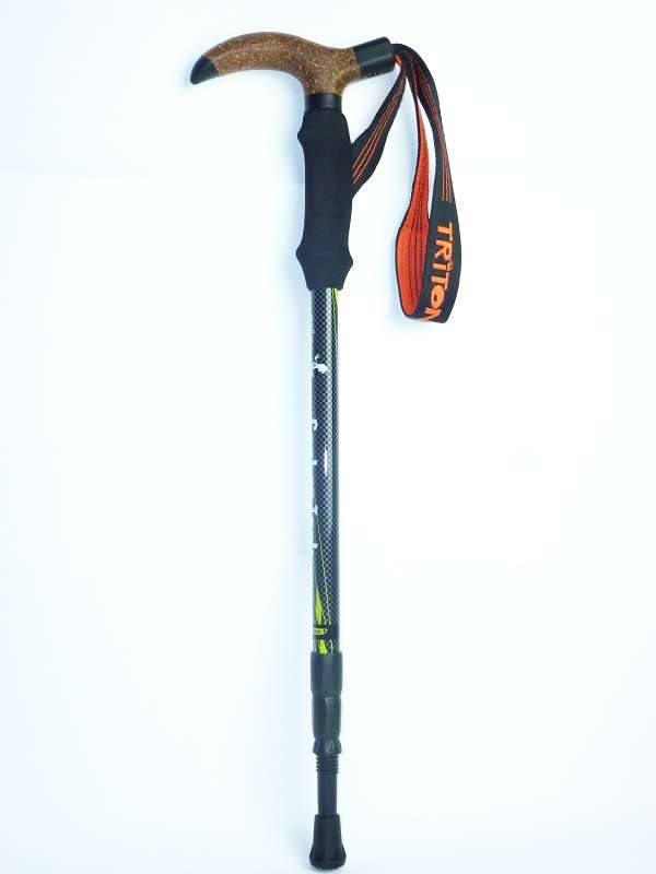 Triton Hiking Pole 碳纖維行山杖 - Carbon Trek Pole, lime/grey