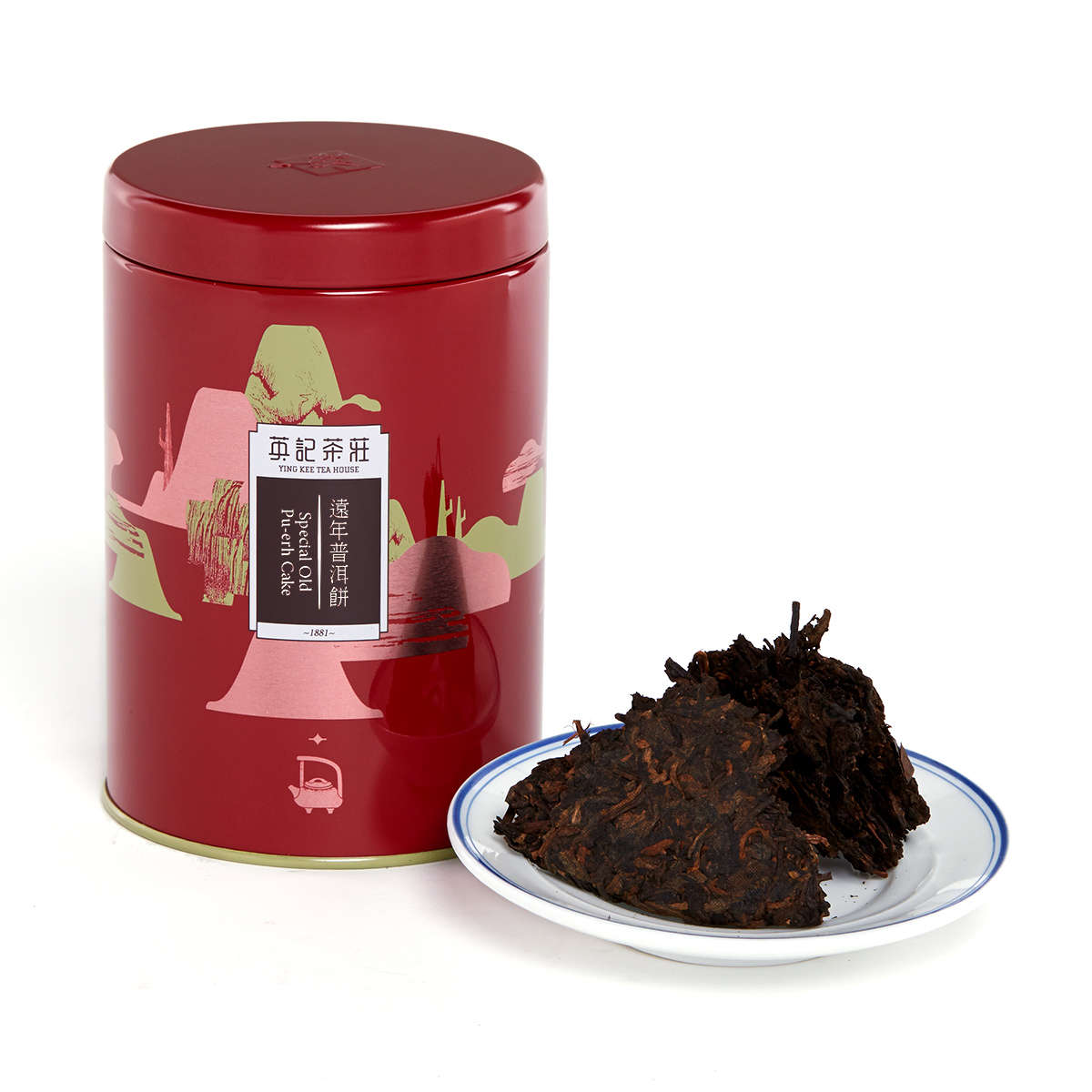 Special Old Pu-erh Cake (150g/tin)