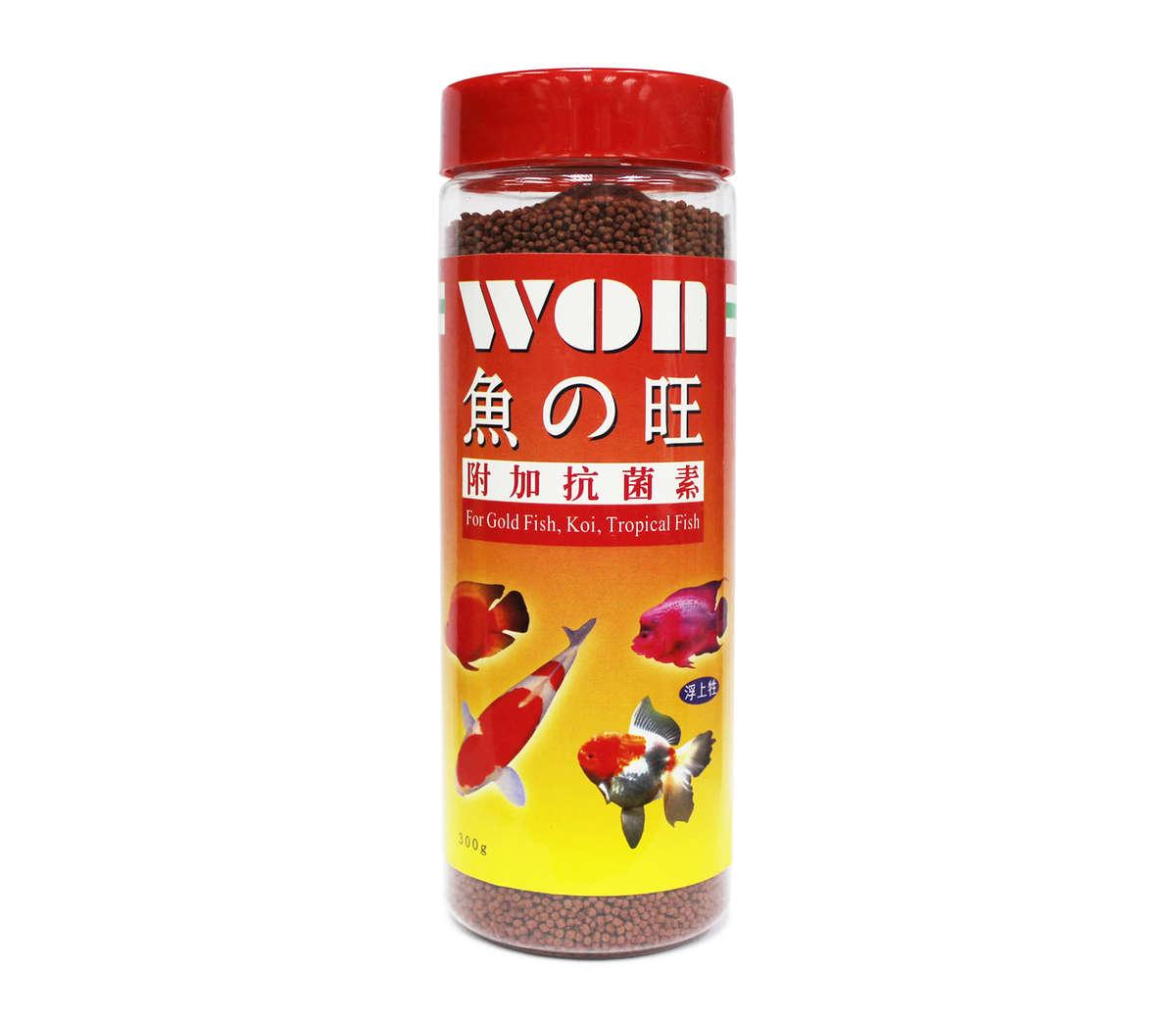 WON | Fish color enhancing food (S) 300g | HKTVmall Online Shopping