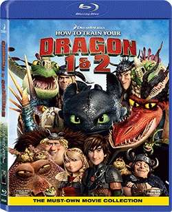 HOW TO TRAIN YOUR DRAGON 1 & 2 (2BR/BOX SET)馴龍記1 + 2套裝
