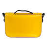 11'' Satchel  Briefcase – Double Yellow | Black