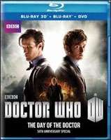 DAY OF THE DOCTOR (50TH ANNIVERSARY SP) (2D & 3D VER) (2BR+DVD)
