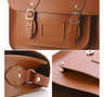 12.5 inch Satchel-London Tan