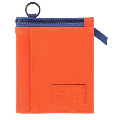 WEEKADE Rider wallet-Python orange