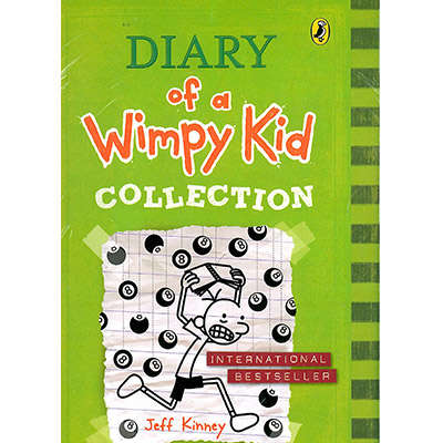 Diary of a Wimpy kid Box Set (1-8) 9780141358000