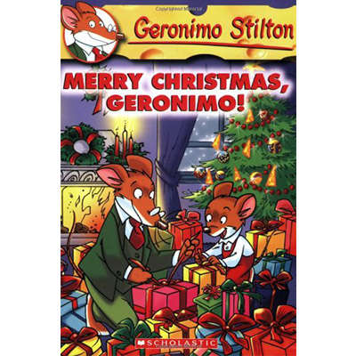 Geronimo Stilton #12 Merry Christmas, Geronimo 9780439559744