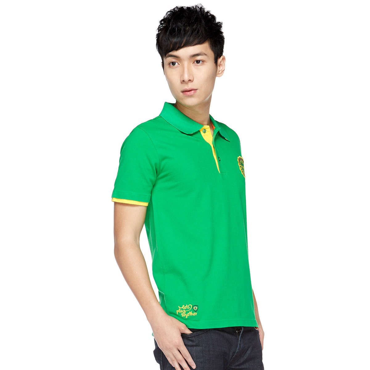 Lets play together (Brazil) Unisex Polo Tee