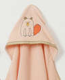 Woodland Collection:Busy Beaver-Hooded Towel