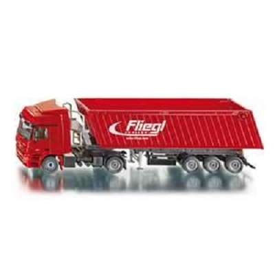 1/50 SIKU 3537 Truck with Tipping Trailer