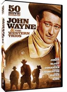 AND THE WESTERN TRIOS: 50 MOVIE ROUND UP (10DVD)
