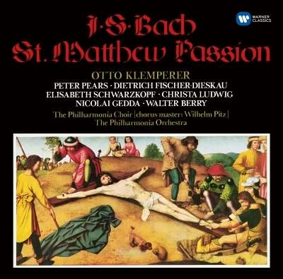 BACH: ST MATTHEW PASSION (3CD) (ORIGINAL JACKET SERIES)