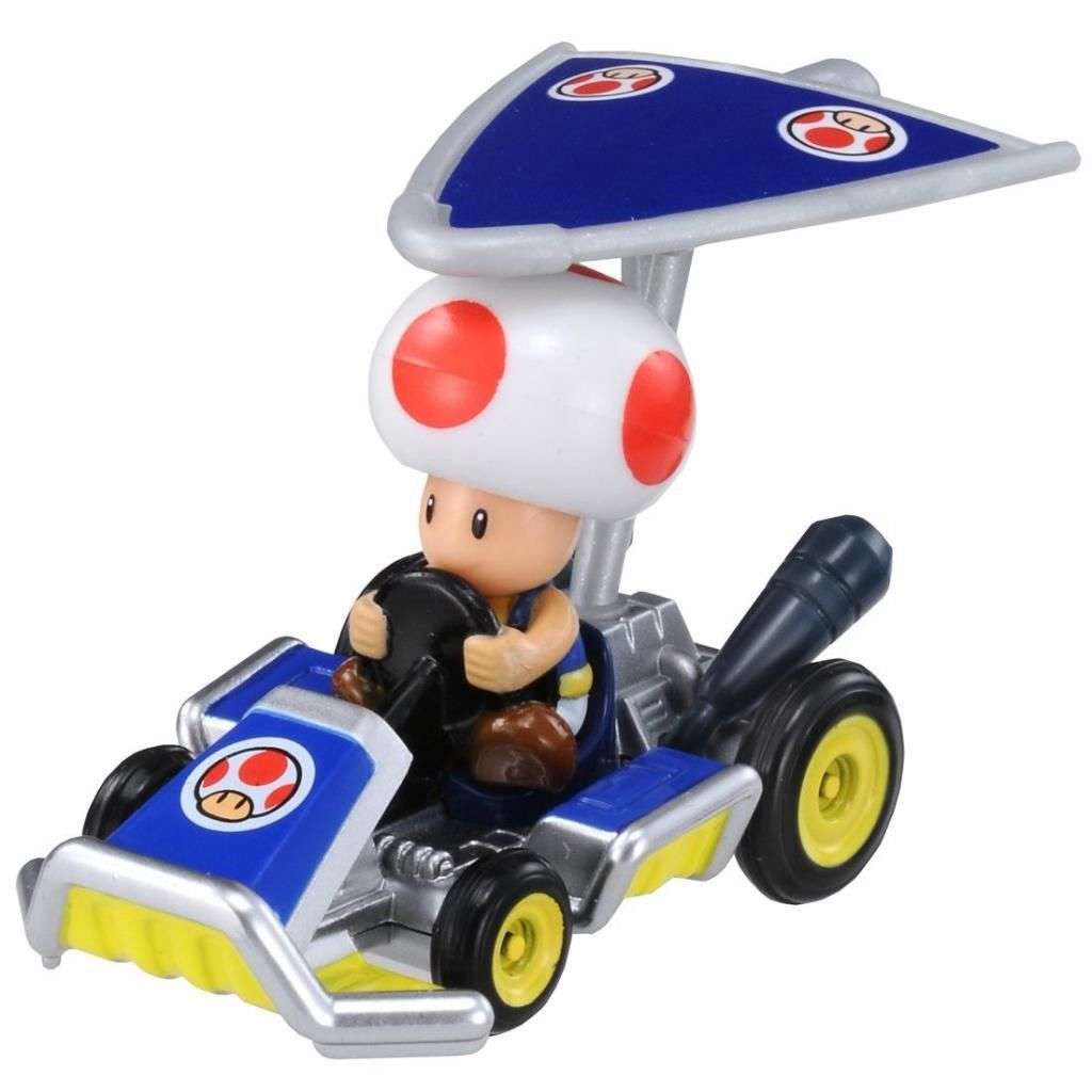 Takara Tomy MARIO Kart 7 Nintendo Kinopio Car with Super Kit Toy