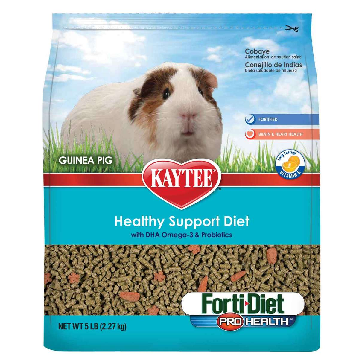 Kaytee Forti Diet Prohealth Guinea Pig 5pd