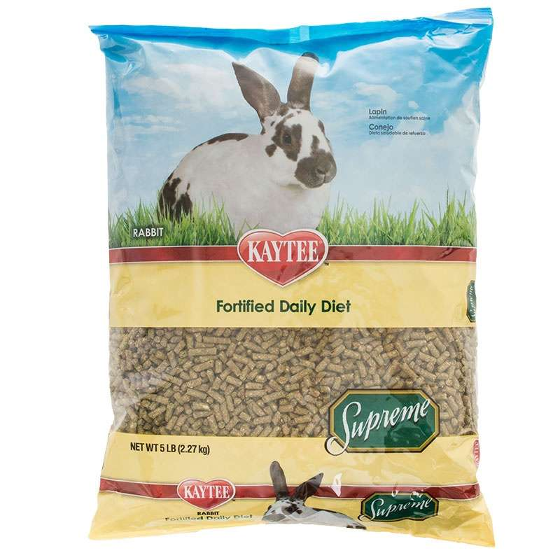 Kaytee Supreme Fortified Daily Blend Rabbit Food 5pd
