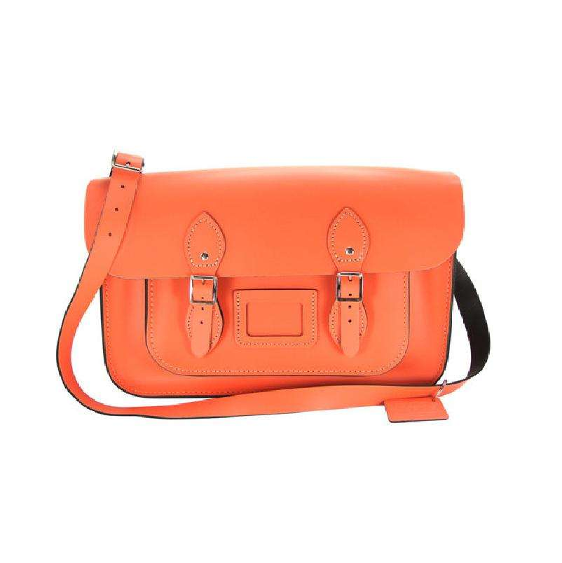 12.5 inch Satchel-Coral Reef