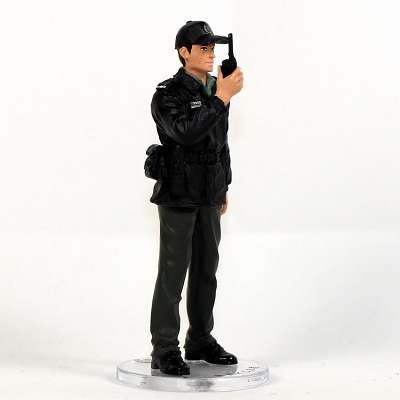 Metal Figure Collection HH019 HK CSD CSD Officer