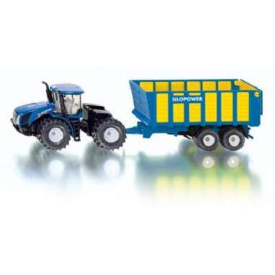 1/50 Siku 1947 New Holland with silage trailer