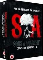 SONS OF ANARCHY: SEASON 1-5