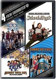 4 FILM FAVORITES: MOVIES THAT ROCKE (ROCK OF AGES/SCHOOL OF ROCK/DETRO