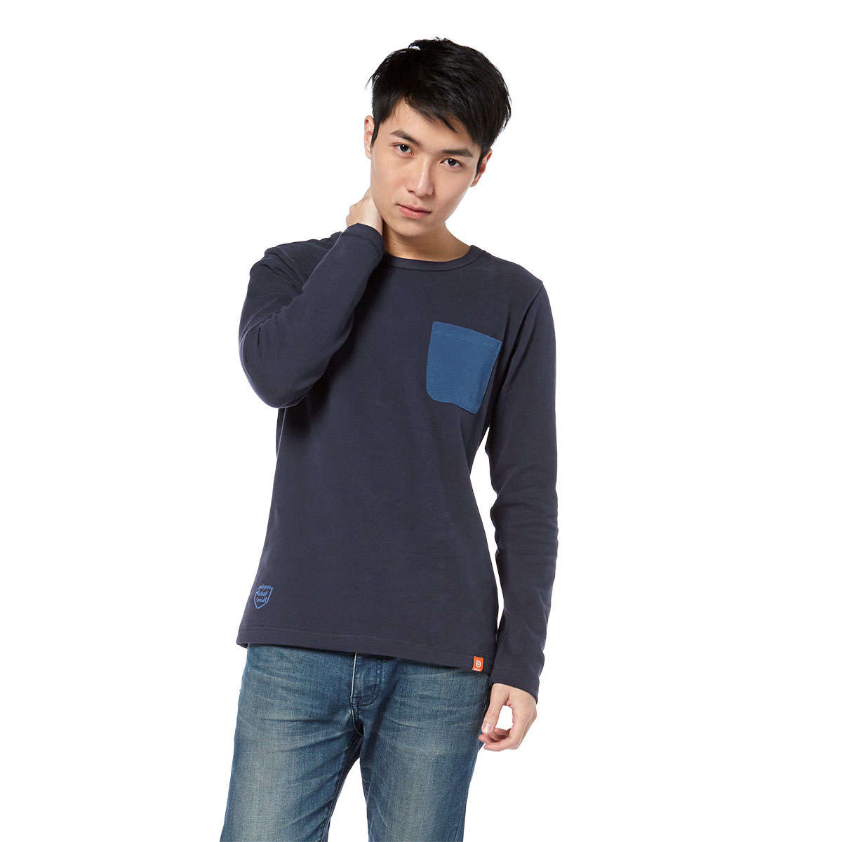 Pocket Special Unisex Long Sleeves Tee