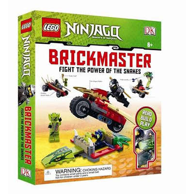 LEGO Ninjago Fight the Power of the Snakes! Brickmaster 9781409383253