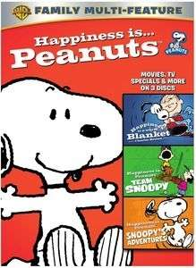 HAPPINESS IS PEANUTS: 3 PACK FUN (3DVD: REPACKAGED)