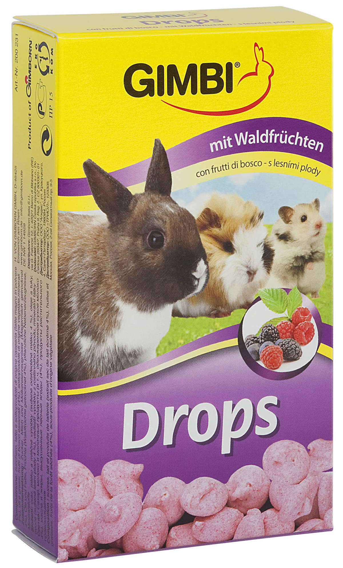 Forest Fruit-Drops (Wald-Fruchte-Drops) 100g