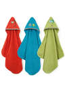 Rainforest Collection:Silly Frog-Hooded Towel