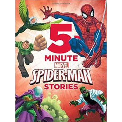 5-Minute Spider-Man Stories 9781423177869