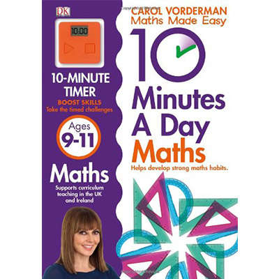 10 Minutes a Day Maths Ages 9-11 9781409365433