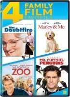 MRS DOUBTFIRE/MARLEY & ME/WE BOUGHT A ZOO/MR POPPERS PENGUINS