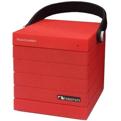 MUSIC CUBE MINI: WIRELESS SPEAKER (RED)