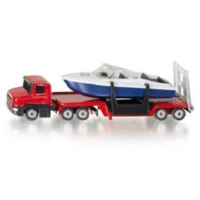 Siku 1613 Low Loader with Boat
