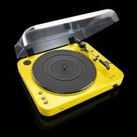 L-85 TURNTABLE WITH USB DIRECT RECORDING (YELLOW)