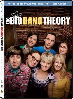 BIG BANG THEORY: COMPLETE EIGHTH SEASON (3DVD)天才大爆炸:第8輯
