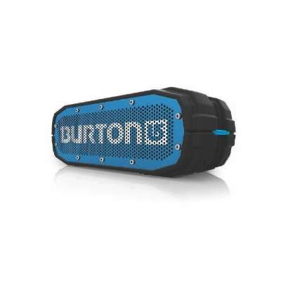 BRV-X BURTON: WATERPROOF BLUETOOTH SPEAKER (SCOUT BLACK/BLACK)(LTD ED)