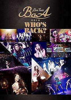 WHOS BACK: LIVE TOUR 2014 (2DVD)