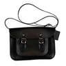 11'' Satchel – Charcoal Black