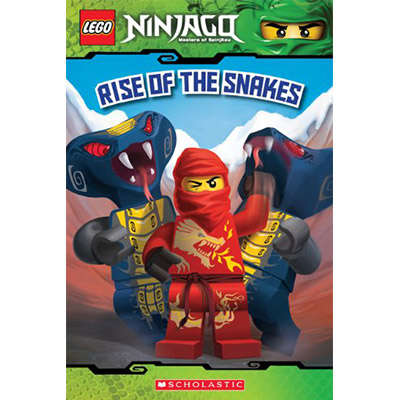 LEGO Ninjago Reader #4 Rise of the Snakes 9780545435925