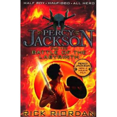 Percy Jackson #4 and the Battle of the Labyrinth 9780141346830
