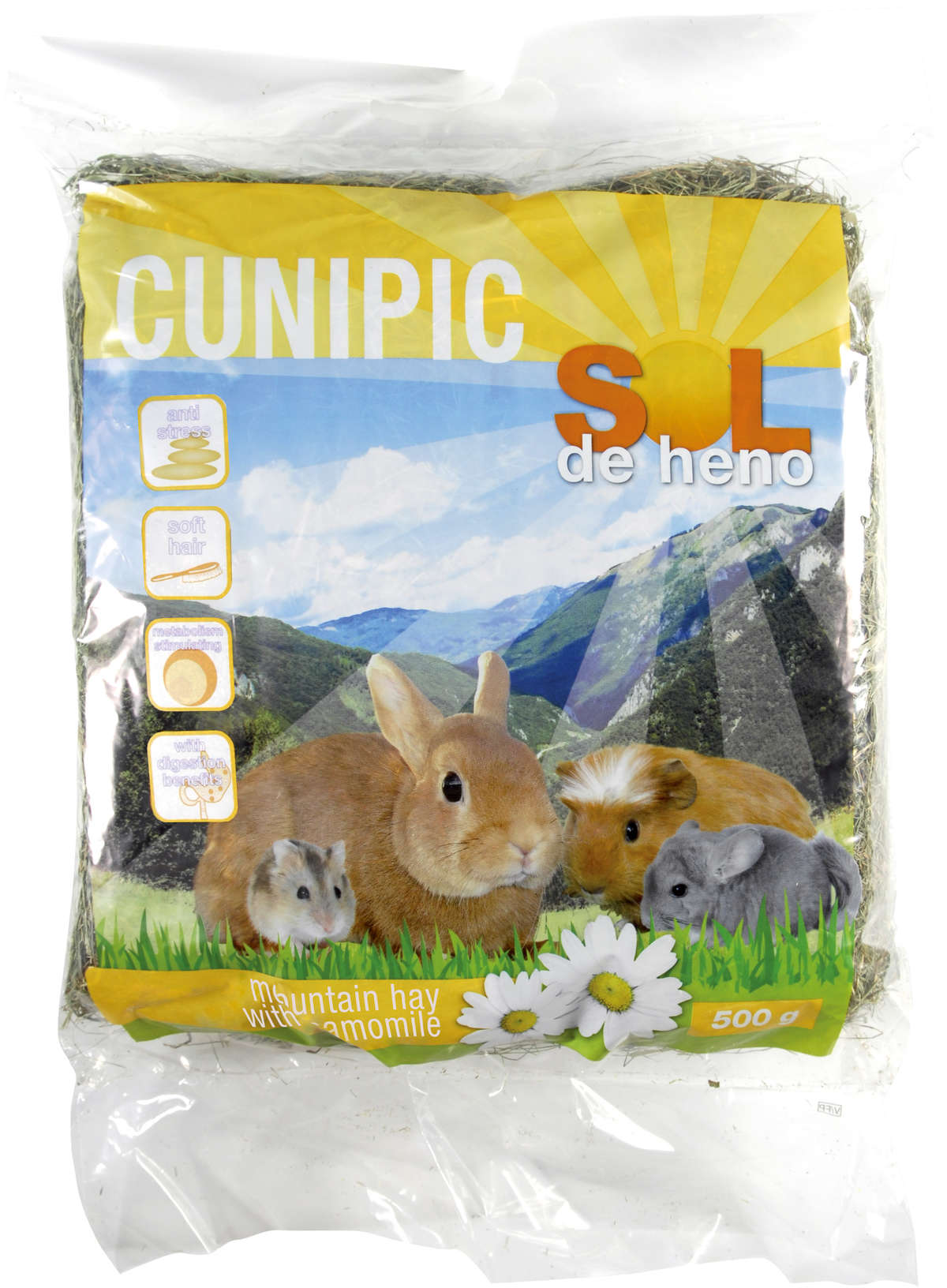 Cunipic Blossomhay (Mountain Hay) with Camomille