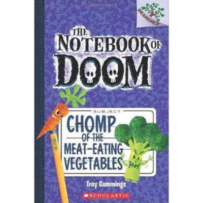 The Notebook of Doom #4 Chomp of the Meat-Eating Vegetables 9780545552998